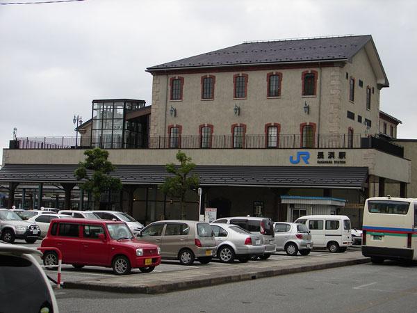JR長浜駅之圖