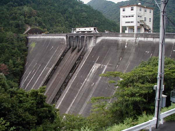 宇連ダム貯水率(フレーム設定)